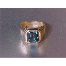 Taurus Lab Created Emerald 14Kt Gold