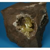 Sulphur Crystals
