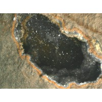 Quartz Geode in Rhyolite