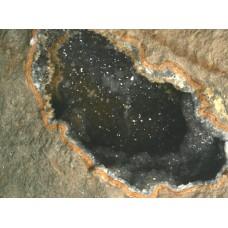 Quartz Geode in Rhyolite