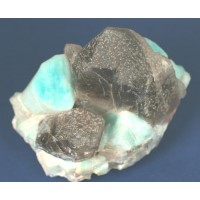 Amazonite and Smoky Quartz