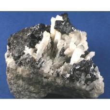 Cassiterite with Quartz Scepters