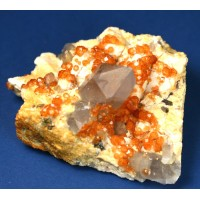 Spessartite Garnet with Smoky Quartz wholesale lot