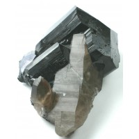 Black Tourmaline (Schorlite) with Quartz