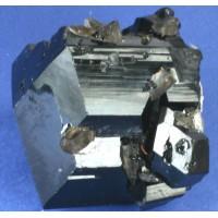 Tourmaline, var. Schorlite with Quartz Crystals