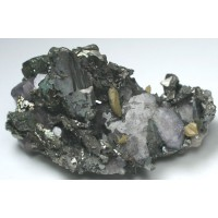 Apatite, Arsenopyrite, and Siderite
