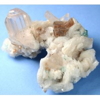 Topaz, Fluorite, Lepidolite, and Albite