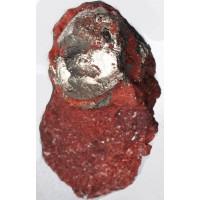 Pyrite in Siderite