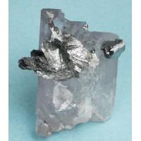 Lollingite with Fluorite (Floater)