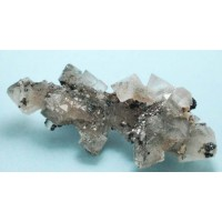 Quartz Scepter Group with Magnetite