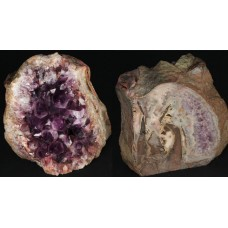 Amethyst in Basalt