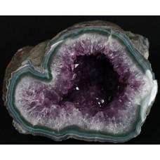 Amethyst/Agate  Geode