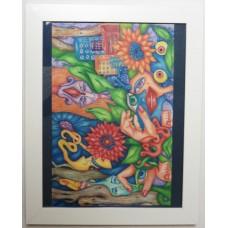 "Art by Shari Benkiel,  Framed 10x8"" Prints"