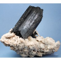 Schorl Tourmaline with Orthoclase crystals