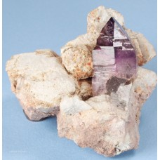 Amethyst Scepters on Orthoclase