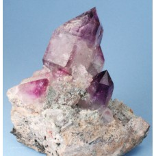 Amethyst Scepters on matrix