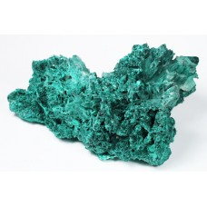 Malachite (pseudomphs after Azurite)