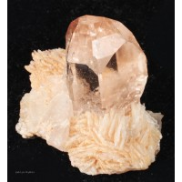 Topaz on Cleavelandite