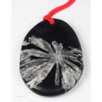 Chrysanthemum Stone Pendant