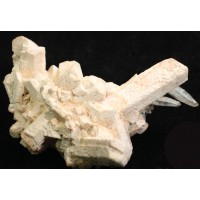 Orthoclase with Quartz, Beryl and Goethite