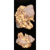 Gold Nugget with Quartz