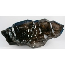 Smoky Quartz Scepter, var. Crocodile Quartz