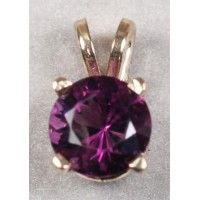 Amethyst in Yellow Gold