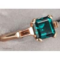 Emerald in 14K