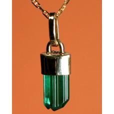 Tourmaline Crystal Pendant