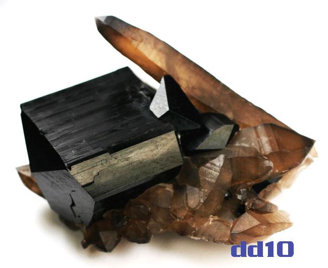 schorl-quartz